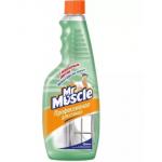 Мистер Мускул чистящее и моющее средство для стекол, запасной, 500 мл