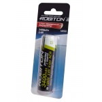 ROBITON 3.4/Li18650 (1.7A) 3400мАч с защитой 1.7A (NCR18650B) BL1