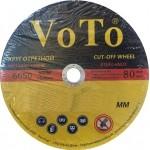 Круг отрезной по металлу VoTo 125х1,0 VoTo