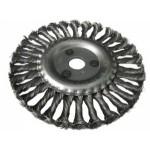 Щетка дисковая УШМ 125/22мм крученая USP