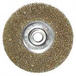 Щетка металлическакя для УШМ 175мм/22мм плоская ЕРМАК
