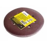 Круг шлифовальный с липучкой, 10шт, диаметр 125мм, 8 отверстий, Р320