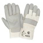 Перчатки кожаные комбинированные 2Hands ЕСО 4003