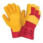 Перчатки кожаные комбинированные Siberia 0120