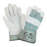 Перчатки спилковые комбинированные 2Hands 0112