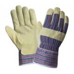 Перчатки спилковые комбинированные 2Hands 0115 (88PВSA)
