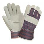 Перчатки спилковые комбинированные 2Hands 0115 ECO