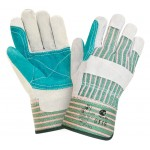 Перчатки спилковые комбинированные усиленные 2Hands 0110