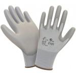 Перчатки нейлоновые с полиуретаном 2Hands Air 2101GR