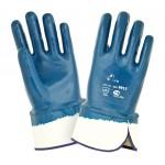 Перчатки краги с тяжелым нитриловым покрытием 2Hands 9912