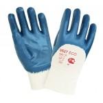 Перчатки  с тяжелым нитриловым покрытием 2Hands ЕСО 0527