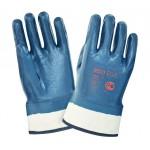 Перчатки краги с тяжелым нитриловым покрытием 2Hands ЕСО 0533