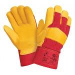 Перчатки кожаные комбинированные утепленные Siberia 0125