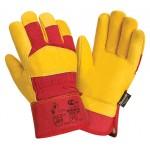 Перчатки кожаные комбинированные утепленные Siberia 0130 3M Thinsulate
