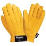 Перчатки кожаные утепленные Siberia 0150 3M Thinsulate