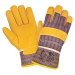 Перчатки спилковые комбинированные 2Hands 0202