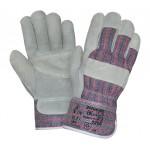 Перчатки спилковые комбинированные 2Hands 0205