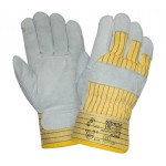 Перчатки спилковые комбинированные 2Hands 0295