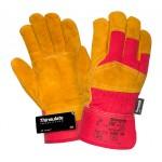 Перчатки спилковые комбинированные утепленные Siberia 0385 3M Thinsulate