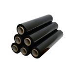 Стрейч-пленка 500 мм, 20 мкм, чёрная 1,8 кг.